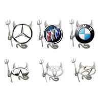 3D Teufel Stil Logo Demon Sticker Aufkleber Auto Abzeichen Emblem Papier