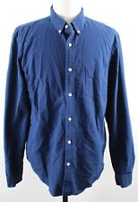 NEW J.Crew Slim Vintage Oxford Button Down Shirt MENS XL Tonal Cotton Blue