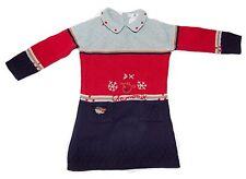 Deux Par Deux Girls Designer Knit Sweater Dress Size 3T Excellent