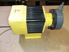 LMI Milton Roy Chemical pump,,31439 15.9 gph,,15 psi