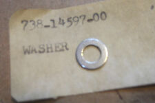 YAMAHA RC100  KT100  GENUINE  NOS  THROTTLE  SHAFT  WASHER - # 738-14597-00