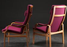 Vintage retro mid century 60s 70s Danish bentwood armchair x 1