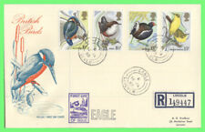 G.B. 1980 Birds set on Philart First Day Cover, 'Eagle' cds