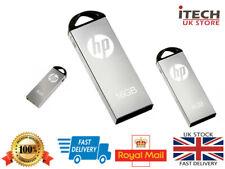 HP v220w USB 2.0 Flash Drive Solid Metal 16GB /8GB/4GB