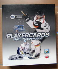 DEL 2009/10 Playercardsordner Serie Premium Bronze alle Teams - komplett