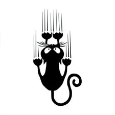 Animal Decorative Vinyl Wall Decals Funny Cat Personality Switch Sticker