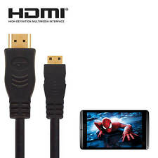 Medion Erazor Laptop Mini DisplayPort to HDMI 4k TV Monitor 3m Gold Lead Cable