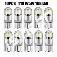 10Pcs For Osram T10 W5W 168 2 LED 6500K Car interior Reading Light 12V DC White