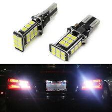 Xenon White Error Free T15 LED Bulbs For Euro Car Back up Reverse Lights 912 921