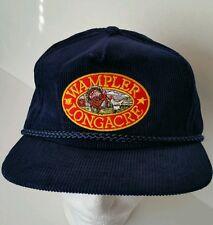 Wampler Longachre Trucker hat Poultry Farm Retro Snapback Hat Vintage Courderoy