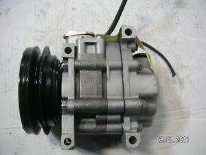 A/C Compressor w/ Clutch Panasonic Remanufactured for Subaru Loyale 1990 1.8L