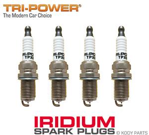 IRIDIUM SPARK PLUGS - for Subaru Forester GT 2.0L Turbo SF5 (EJ205) TRI-POWER