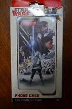 STAR WARS THE FORCE AWAKENS COLLAGE CELL PHONE CASE FOR IPHONE 7 PLUS & 6 PLUS