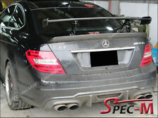 2012-2015 C204 C63 AMG COUPE Black Series Style Carbon Fiber Trunk Spoiler Wing