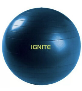 """IGNITE By SPRI Stable Ball Anti Burst Weighted 55cm, Ideal for height 5""""-5'7"""""""