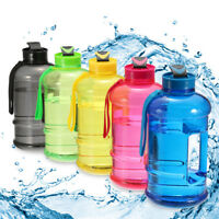 1.3L Large BPA Free Sport Gym Training Drink Water Bottle Cap Kettle Camping Cup