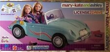 Mary-Kate and Ashley twins doll car  Convertible License 2 Drive 2002 NEW Mattel