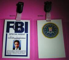 X-Files Badge identification de Fox Mulder X-Files Mulder FBI card replica