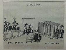 Giannelli Emilio - stampa carabinieri magistrati giustizia - il nuovo rito