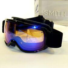 Smith Showcase OTG Goggles-Black Lux/Blue Sensor Mirror-Eyeglass Compatible