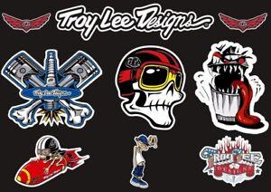 Troy Lee Designs Bike Bicycle Frame Decal Sticker Graphic Adhesive Set Vinyl #10