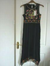 Monsoon Maylin Embroidered Jersey Sleeveless Maxi Dress. UK 12 EUR 40 US 8
