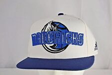Dallas Mavericks White/Blue Baseball Cap Snapback