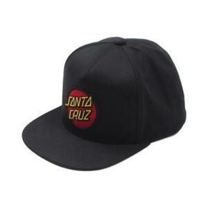 Classic Patch Snapback Baseball Cap Hat by Santa Cruz Skateboards