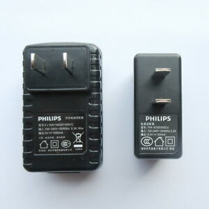 PHILIPS Power adapter  DC5V 500mA/1500mA MP3 player and voice recorder charger