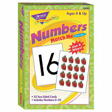 Match Me Cards Numbers 0-25 - Educational - 52 Pieces