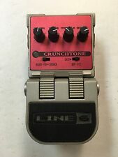 Line 6 Tone Core Crunchtone Overdrive Distortion Crunch Tone Guitar Effect Pedal
