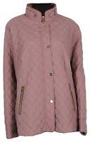 Basler Women's Quilted Jacket Transitional Rosa Gr.46