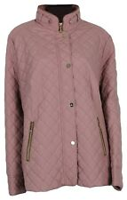 Basler Women's Quilted Jacket Transitional Rosa Gr.46