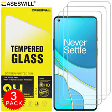 For OnePlus 8T / 8T+ Plus 5G Caseswill HD-Clear Tempered Glass Screen Protector
