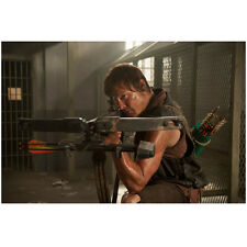 Norman Reedus in The Walking Dead as Daryl in Jail Cell 8 x 10 Inch Photo