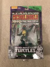 Rare Teenage Mutant Ninja Turtles Michelangelo Comic Book and Figure Set TMNT