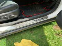 For Hyundai Tucson Car Accessories Door Sill Cover Scuff Plate Protector 15-2019