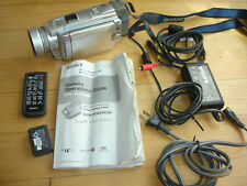 Sony Handycam DCR-HC85 Mini DV Camcorder Remote Night Shot Manual Cables  AV AC