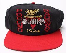 Rare Vintage 1994 Pocono 500 Raceway Snapback Trucker Hat CAP Nascar Racing
