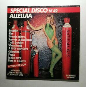 Ref1753 Vinyle 33 Tours / special disco n 42 alléluia