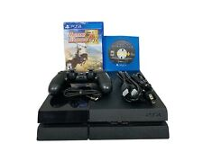 Sony Playstation 4 PS4 500GB Console Bundle Black MODEL CUH-1115A With Games