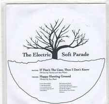 (GC928) The Electric Soft Parade, If That's The Case, Then I Don't Know - DJ CD