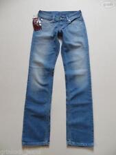 Damen-Röhrenjeans mit niedriger Hosengröße W27 (en)