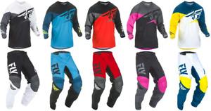 FLY Racing Kinetic Shield Youth Motocross MX Dirt Bike Off-Road ATV Pants