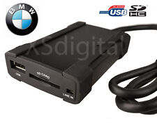 BMW USB/SD Interface Adapter + Aux E46 16:9 Navigation 3 Series X3 X5 Z4