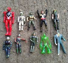 Lot of 10 Action Figures, Vintage 90's DC Comics Marvel Batman and More