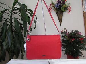 NWT Coach Nylon Crossbody Bag F57899 True Red