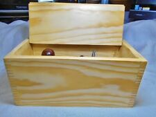 Finger Jointed Storage Case For Your Stanley Combination Plane Or Other Treasure