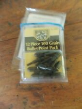 Bushmaster 100 Grain (6.5g) Field Bullet Point Pack 12 piece ~ 7 Packs