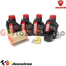 KIT TAGLIANDO 7100 10W40 FILTRO OLIO ARIA CANDELE DUCATI 796 MONSTER 2011